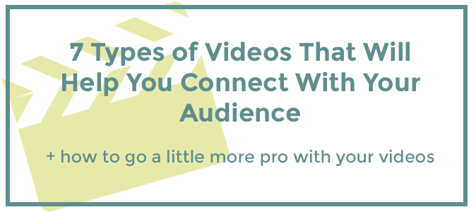 7 Types Of Videos for Your Website